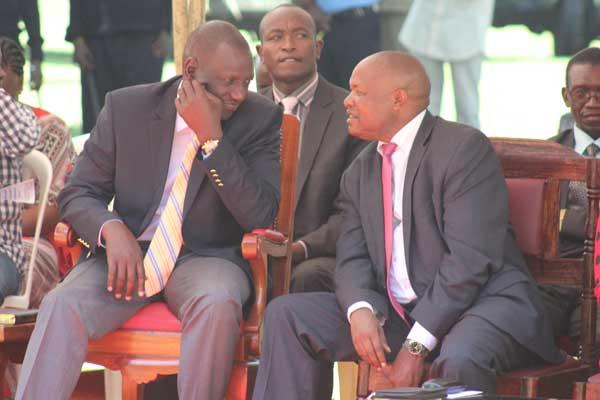 Deputy President William Ruto with Kericho