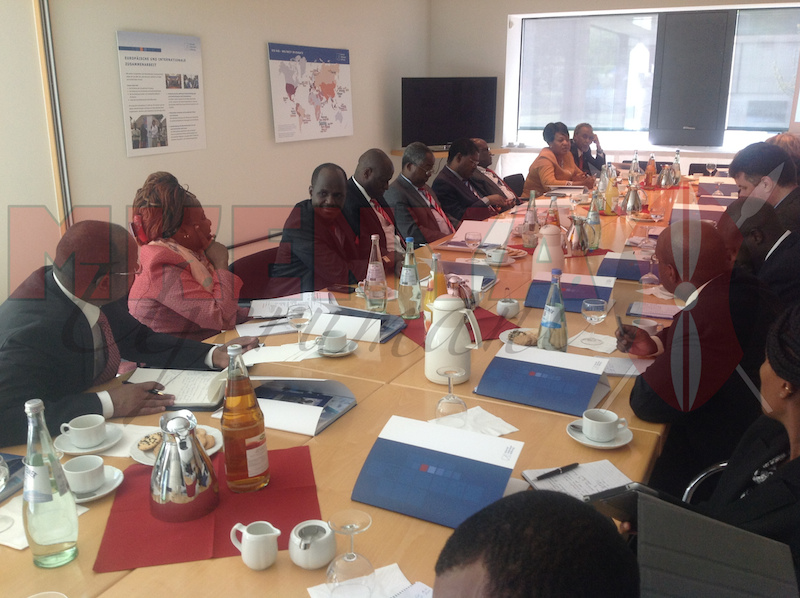 Kenyan Senators at the Konrad Adenauer Stiftung in Berlin