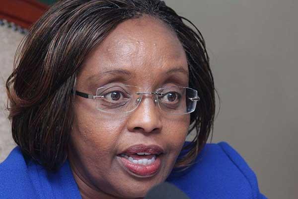 Labour Cabinet Secretary Phyllis Kandie.
