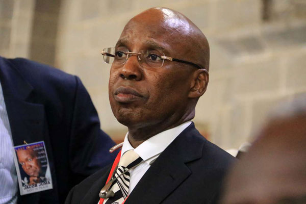Businessman Jimmi Wanjigi at All Saints Cathedral in Nairobi in May 2016. PHOTO | JEFF ANGOTE | NATION MEDIA GROUP