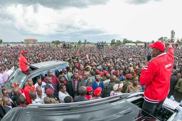 Bumula MP Moses Mabonga campaign Uhuru, Diaspora Messenger News Media