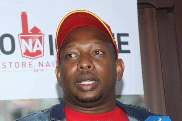Nairobi Governor Mike Sonko. He cleared