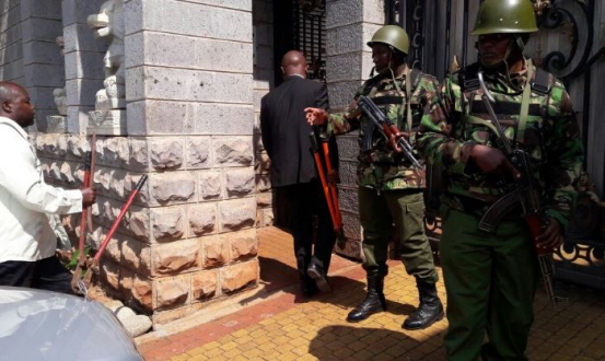 Image result for Police search yields guns in Jimmy Wanjigi Muthaiga house