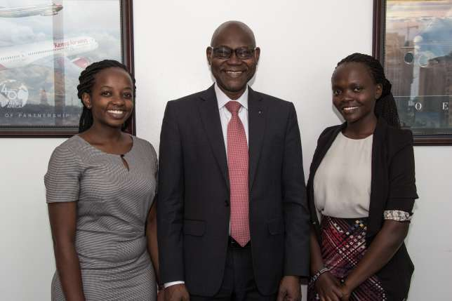 Kenyan students win rare opportunity to work with the world's largest aerospace company in Seattle, USA