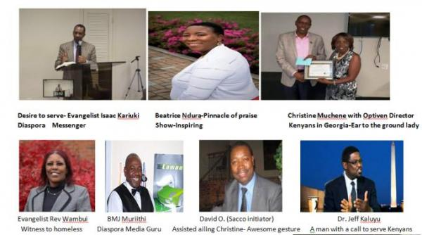 DIASPORA VALID DREAMS: Kenyans who made a difference 2018