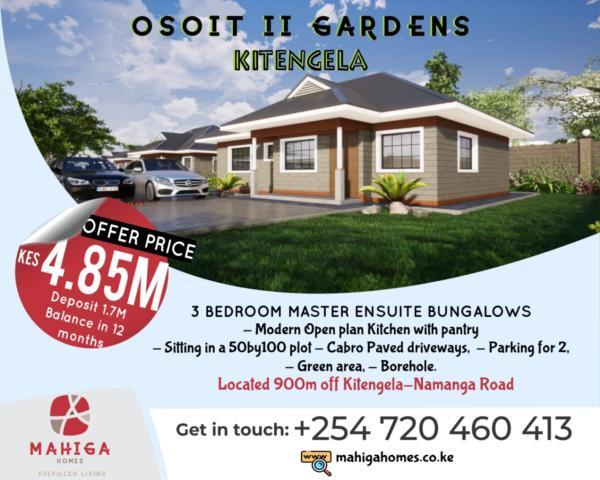 Incredible Mahiga Homes Affordable Houses In Kitengela Suburbs Acacia Area Interior Design Ideas Truasarkarijobsexamcom